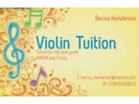 Beginner - Intermediate Violin Tuition