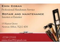 Handyman services, all general property & garden services undertaken. Free quotes and references.