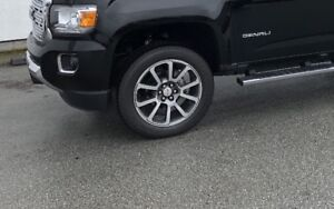 Brand new tires from Canyon