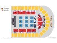 2 x Russell Peters tickets, 24/04 Birmingham, Blk B, Row B