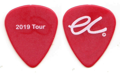 Eric Clapton Red 2019 Tour Guitar Pick - 2019