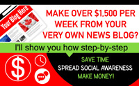 News Blog Web Design Services - Get Guaranteed Income From Ads