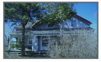 House, barns and land for sale