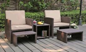 High quality rattan Garden Furniture bristo set