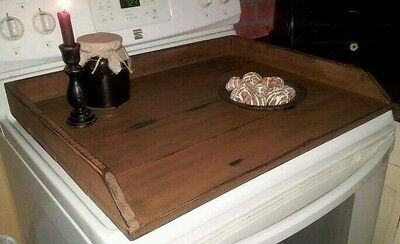 Primitive Stove Cover Noodle Board