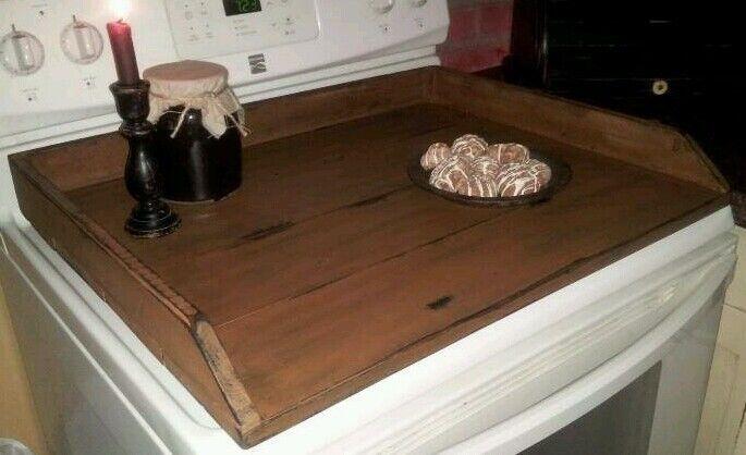 Primitive Stove Cover Noodle Board