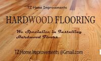 Quality Hardwood Flooring Installers - TZ Renovations