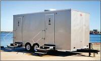 Luxury Washroom Trailers & Upscale Porta Potties