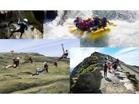Weekend of Activities Inc Accommodation £205