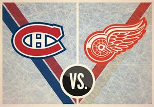 Hockey - Detroit Red Wings vs Canadians March 21