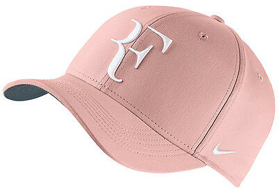 New Nike Aerobill Roger Federer Hat Sunset Tint Adjustable Tennis Cap 868579 658