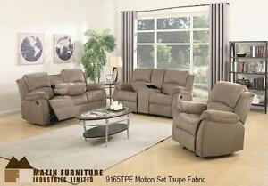 3PC RECLINING SOFA SET - PRESALE - ARRIVAL DATE JANUARY 7, 2017