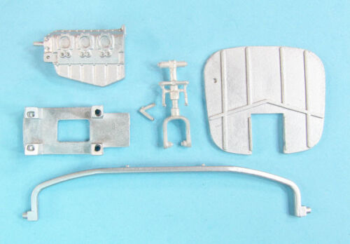 O-2A Skymaster Landing Gear & Nose Ballast replacement for 1/32 Roden 32128