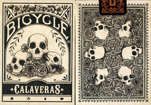 CARTE-DA-GIOCO-BICYCLE-CALAVERAS-poker-size