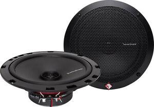 "Rockford Fosgate Prime R1675X2 6-3/4"" 2-way car speakers"