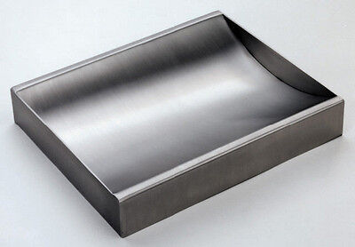 Stainless Steel Countertop Deal Tray Brushed Finish 12 W X 10 D