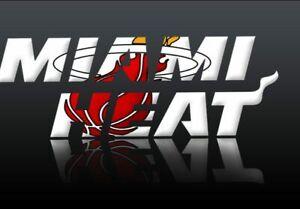 Toronto Raptors vs Miami Heat- Apr 7 (Sec 119 & 117) 2-4 Tickets