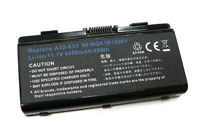 Serie Li Ion Kompatible Akku (Akku kompatibel zu Asus A32-X51 / X51 Serie / T12 Serie Li-Ion schwarz 8002651)