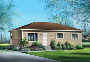 NEWLY CONSTRUCTED $ 114,000  912 sq ft BUNGALOW ON YOUR LOT