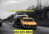 Top Cash for Junk Cars Truck Vans SUV 604 825 8841