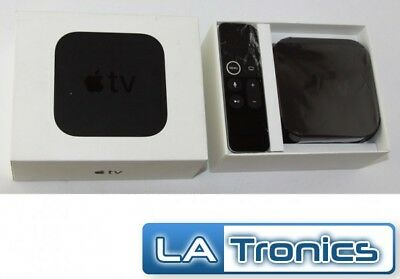 Apple TV 4th Gen A1625 32GB HD Media Streamer MR912LL/A Tested *READ*
