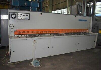 13 X 14 Lvd-hd Cs-640 Hydraulic Power Squaring Shear - Tw323