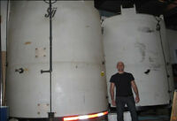 Vertical Industrial Water Tank with Mixer