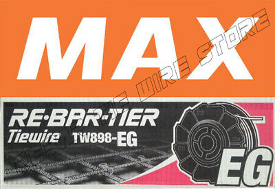 Tw898eg Max Rebar Tie Wire 50 Roll Case - New Product Galvanized