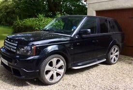 Range Rover Sport Khan Project Black Label Number 8