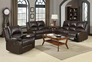 Brand new recliner sofa & loveseat $1498+FREE 3 PC COFFEE TABLE!