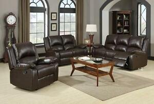 Brand new recliner sofa & loveseat $1398+DO NOT PAY FOR 12 MONTH