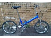 Unisex Adults Safari Folding Bike In Good Condition