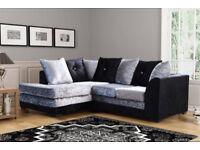 Dylan Upholstered CORNER Sofa Set - Brand New