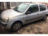 05 (54) Renault Clio 1.2 16v 495 Ono 12 month mot