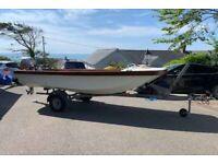 4m Dell quay dory boat fishing