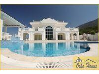 White Sapphire Villa in Ovacik Turkey for sale, 4 double bedrooms (all en-suite), swimming pool