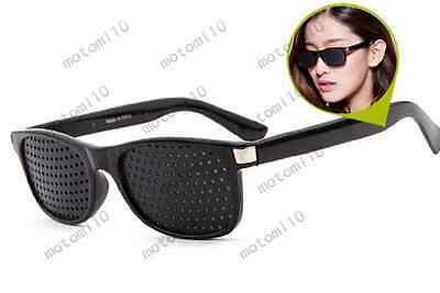 Eyesight Care Unisex Pinhole Glasses Vision Improver Anti-fatigue Eyeglasses Mo