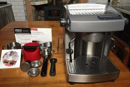 Sunbeam em6910 caf series semi commercial espresso machine coffee espressocap machine twin pump semi commercial grinder as new fandeluxe Gallery
