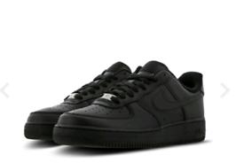 Black Nike Air Force 1 - NEW!!