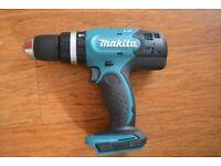 Makita Hammer Drill 18 V Cordless