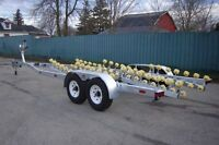 Custom Built Boat Trailers - Galvanized, Built to Last