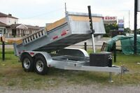 Duratrail Galvanized Dump Trailers - Made in Brantford