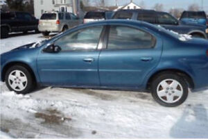 2003 Dodge SX2.0 For Sale As Is - Only 143 km And Valid E-Test