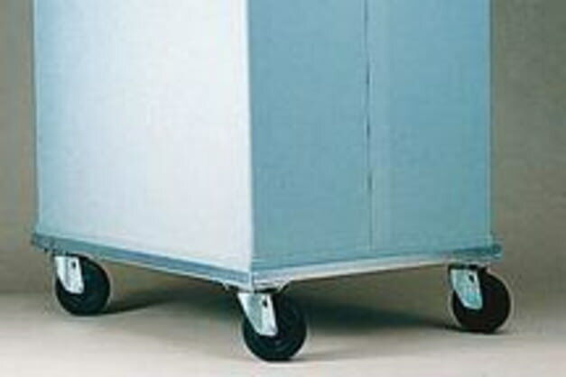"""Tegrant ThermoSafe Brands 376 Aluminum Dolly With 10.2 Cm 4"""" Casters for"""