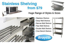 STAINLESS STEEL SHELVING FROM $79.00 Osborne Park Stirling Area Preview