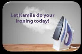 KAMILA'S PROFESSIONAL IRONING AND CLEANING SERVICE !!!