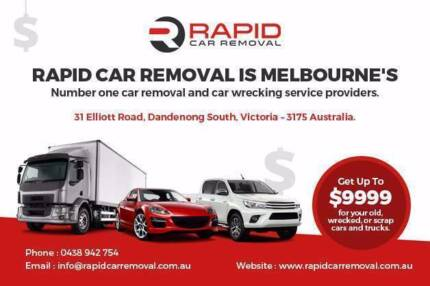 Wanted: Rapid Car Removal & Cash For Cars!! TOP CASH $$$!!
