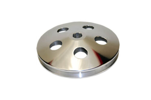 GM-Chevy-Power-Steering-Pulley-ALUMINUM-key-way-chevy-chevrolet-billet-1-groove