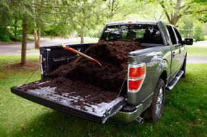 Mulch Delivered, Red, Brown, Black 1 to 4 cubic yards, per dump
