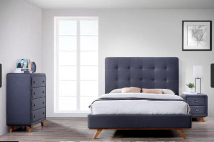 Top Quality Fashionable Fabric Bed Frame